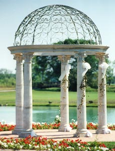 Cast Stone Gazebos