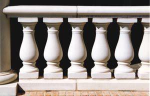Flat grade balustrade photo
