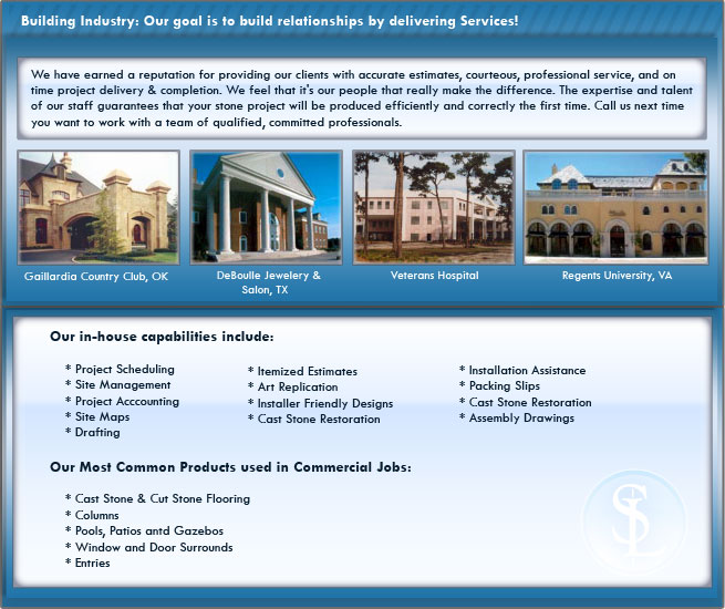 Cast Stone Commercial Services