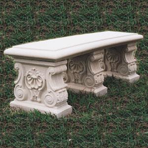 Cast Stone Bench #1