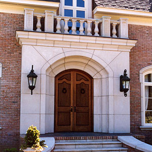 Cast Stone Entry And Quoin Cast Stone Quoins And Entries