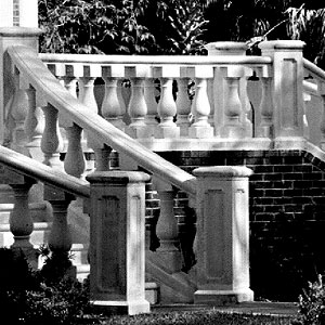 Cast Stone Stairs #3