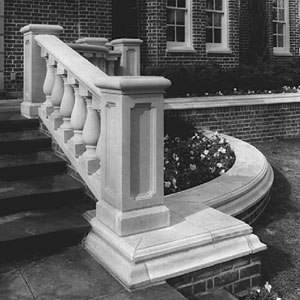 Cast Stone Stairs #5